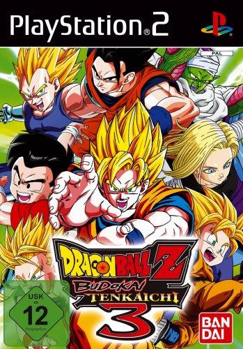Software Pyramide Dragonball Z Budokai Tenkaichi 3 PlayStation 2 Tedesca videogioco