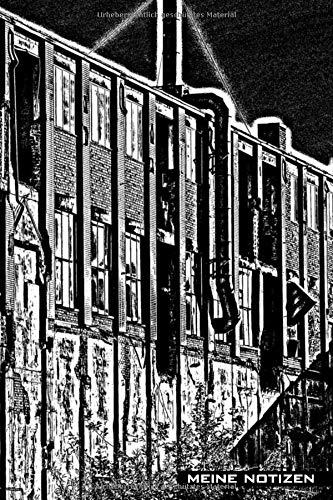 Meine Notizen: Fabrik abstrakt, alte Fabrik, Maschine abstrahiert, lost places, Cover mit abstrakter Fotokunst, Journal, digitale Fotokunst, digitale ... Format 15,24 x 22,85 cm (ca. A5), 120 Seiten