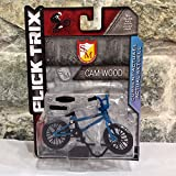 Unbekannt Flick Trix 1/50 Scale Bike Toys Bicycle Motocross BMX Racing Team Diecast Bike Model Toy for Gift/Collection/Decoration/Kids (Blue)