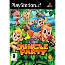 Sony Buzz! Locura en la jungla - PS2 PlayStation 2 vídeo - Juego (PlayStation 2, Rompecabezas, EC (Niños), Magenta)