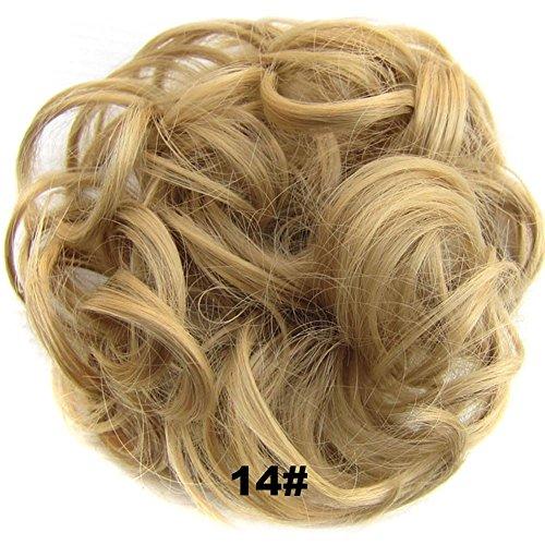lzn Haarschmuck/Haargummi für Haarknoten/Haarteil, Perücke Haar Band (Length:15cm)