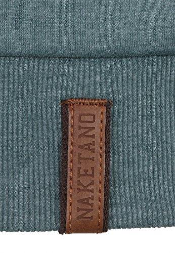 Naketano Male Zipped Jacket Schwarzkopf IV Forrest Melange