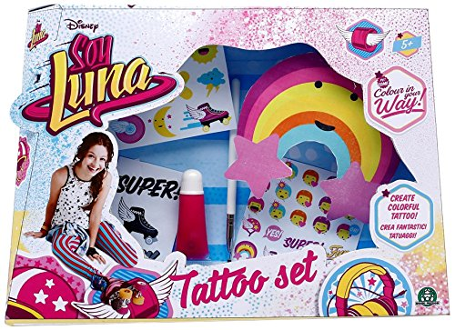 Soy Luna - Set de tatuaje (Giochi Preziosi YLU10001)