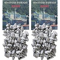 Trimontium GWR01-P2 Räucherwerk - griechischer Weihrauch Stücke Athos 2 x 25 g zum Räuchern auf Kohle oder Sieb preisvergleich bei billige-tabletten.eu