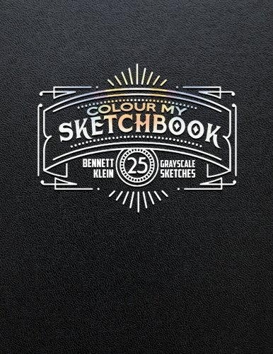 Colour My Sketchbook: Adult Colouring Book