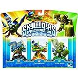 Skylanders - Triple Pack A: Drobot, Stump Smash, Flameslinger