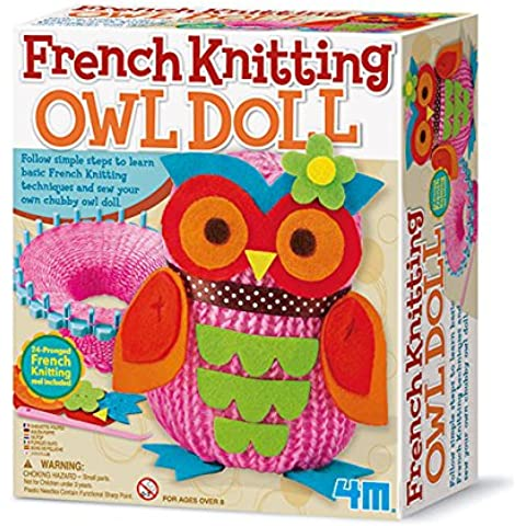 4M 68417 - francese Knitting Owl Doll