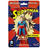 #7: NJ Croce Superman Bendable Keychain NLA, Multi Color (3-inch)