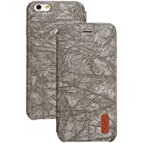 Good Style Apple iphone 6s Case cover, Apple iPhone 6s Grey Designer Style Wallet Case Cover