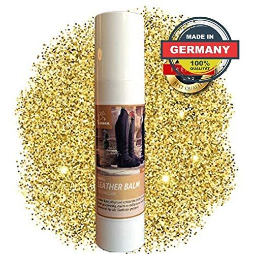 EMMA ♥ Lederbalsam - Lederpflege für Sattel und Trense, Stiefel, Schuhe, Motorradkleidung, Autoleder, Taschen & Möbeln etc. 200 ml -