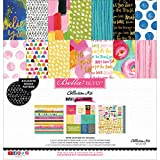 "Bella Blvd Collection Kit 12""X12""-Make Your Mark W/Gold Foil"