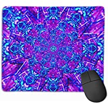 Missle Mandala Personalized Design Mouse Pad Gaming Mouse Pad with Stitched Edges Mousepads, Non-Slip Rubber Base, 9.8x12 Inch, 3mm Thick - Best Gift Idea