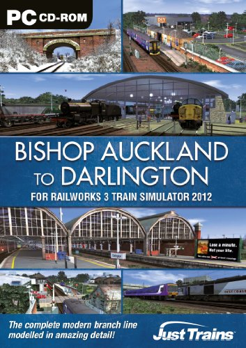 Bishop Auckland - Darlington - Add-On for Railworks 3 (PC DVD)