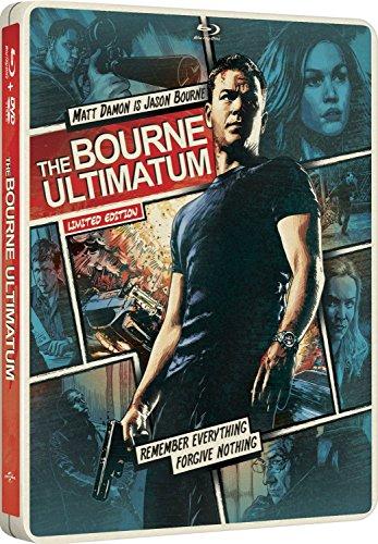 The Bourne Ultimatum - Reel Heroes Limited Steelbook Edition (Blu-ray + DVD + Digital Copy) [Import] (Das Blu-ray Ultimatum Bourne)