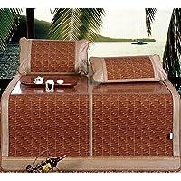 Preisvergleich für Coole Matratze Glatte karbonisierte doppelseitige Klappmatten Matten Matten dreiteilige Bambusmatten Kissen Sätze von kühlen Matten Sommer Bambus Matten 1,5m / 1,8 m Bett gelten Coole Bambusmatte ( größe : 180*198cm )