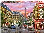 Puzzles Educa - Rue París, D. Davison, p...