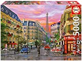 Puzzles Educa - Rue París, D. Davison, puzzle de 5000 piezas (16022)