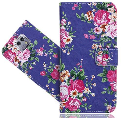 FoneExpert® LG X Cam Handy Tasche, Wallet Case Flip Cover Hüllen Etui Hülle Ledertasche Lederhülle Schutzhülle Für LG X Cam