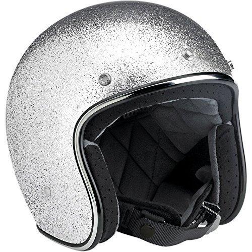 biltwell-bonanza-megaflake-helmet-small-brite-silver-by-biltwell