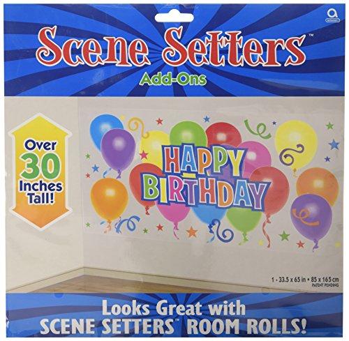 Amscan International - Set di decorazioni per festa di compleanno