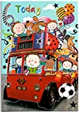 Geburtstagskarte für sechs (6) Jahr Alten Jungen–Kostenloser 1st Class Post (UK)