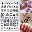 Malloom® Christmas DIY Nail Art Image Stamp Stamping Plates Manicure Template