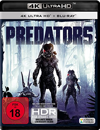 Predators (4K Ultra HD) (+ Blu-ray 2D)