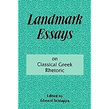 Landmark Essays on Classical Greek Rhetoric: Volume 3 (Landmark Essays Series) (1995-11-01)