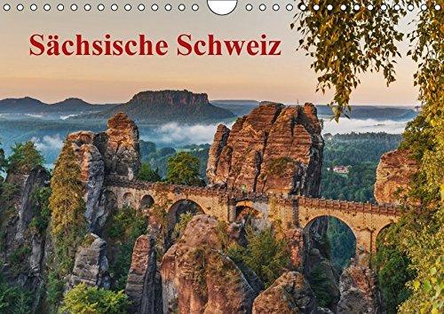 Sächsische Schweiz (Wandkalender 2017 DIN A4 quer): Traumhafte Landschaft im Elbsandsteingebirge (Monatskalender, 14 Seiten ) (CALVENDO Natur)