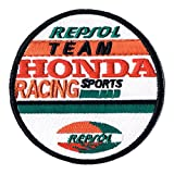 "Sponsoren Aufnäher / Iron on Patch "" Repsol - Honda Racing Team """