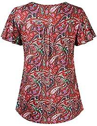 dc415b4868 Suchergebnis auf Amazon.de für: Pusteblume - Blusen & Tuniken / Tops,  T-Shirts & Blusen: Bekleidung