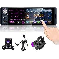 CAMECHO Autoradio Bluetooth 4 '' à écran Tactile capacitif Récepteur Radio FM/AM/RDS stéréo pour Voiture avec Double…