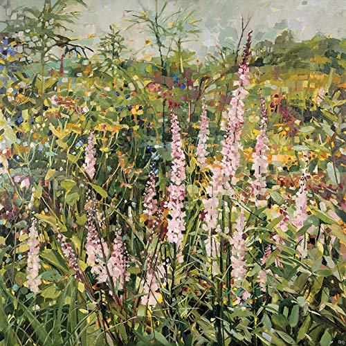 Sussex Gardens (Anne-Marie Butlin Leinwand, Bedruckt, 60 x 60 cm (Sussex Garden))