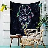 GuDoQi Tapisserie Traumfänger Ethnic Style Tapisserie Wandteppich Wand Dekoration Home Decor Beach Blanket