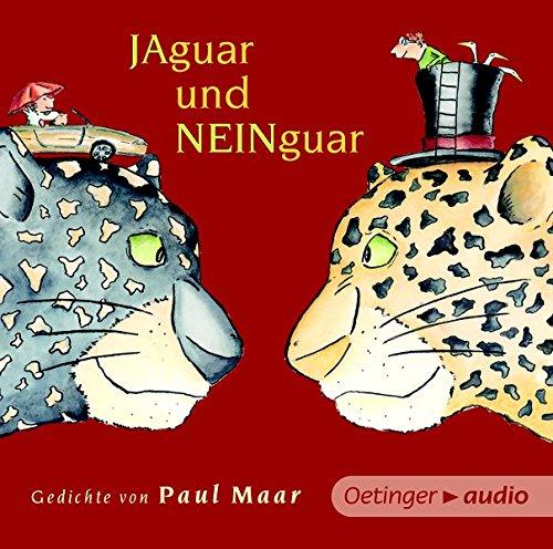 Preisvergleich Produktbild Jaguar und Neinguar. Gedichte von Paul Maar (NA CD: Gedichte,  50 min. Jaguar und Neinguar. Gedichte von Paul Maar CD