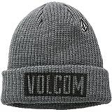 Volcom Trenches - Gorro para hombre, color gris, talla única