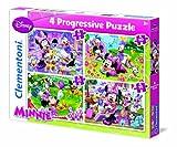 Clementoni 21501.0 - Puzzle Minnie, 91 Teile