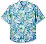 IZOD Men's Tall Saltwater Chambray Plaid Short Sleeve - Best Reviews Guide