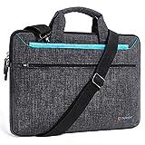 DOMISO 15-15,6 Zoll Laptoptasche Notebooktasche Wasserdicht Aktentasche Tragetasche Schultertasche für 15.6