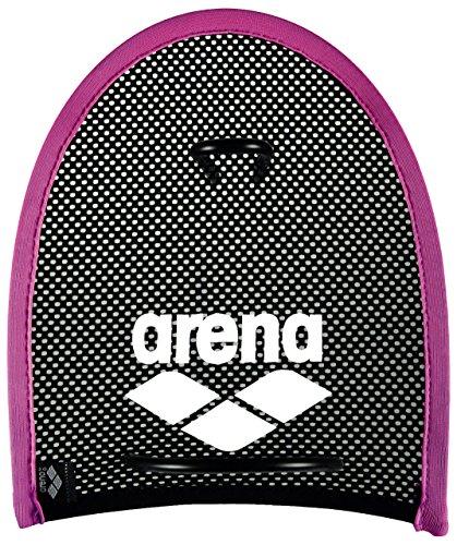 Arena Erwachsene Flex Handpaddles, Pink/Black, M