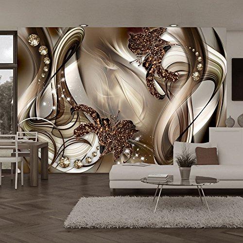 papier peint fleur. Black Bedroom Furniture Sets. Home Design Ideas