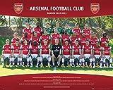 1art1 Fußball - FC Arsenal, Mannschaftsfoto 2012/13 Mini-Poster 50 x 40 cm