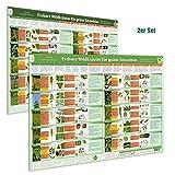 [2er Set] Essbare Wildkräuter für Grüne Smoothies Poster (DINA2) Teil 1 & 2Schnell eindeutig erkennen, selber sammeln und mit gutem Gefühl genießen ... selber sammeln und mit gutem Gefühl genießen)