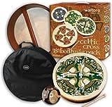 """18 """"Waltons Gaelic Kreuz Design Irische Bodhrán-Pack"""