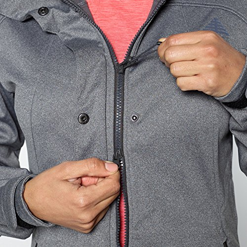 61lZpBjYh0L. SS500  - Berg Outdoor Women's Nataka Long Fit Softshell Jacket