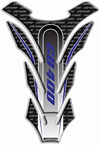 psler Motorrad 3D Tankpad Aufkleber f/ür CB 125R Blau