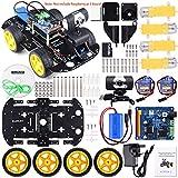 Kuman Professional WiFi Smart Robot Modèle Voiture Kit Caméra Vidéo (Raspberry Pi Non Inclus)