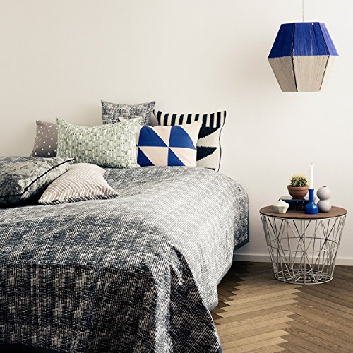Ferm Living – Kissen – grau-weiß-gepunktet – Baumwolle 60 x 40 cm - 2