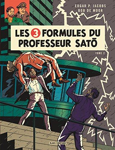 Blake & Mortimer, tome 12 : Les 3 formules du professeur Sato, tome 2 par Edgar P. Jacobs
