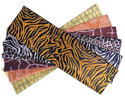 CI Safari Print Tissue Paper, Multi-Colour, 51x12x1 cm, Sheet of